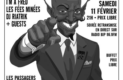 Concert de soutien au squat d'Enfer