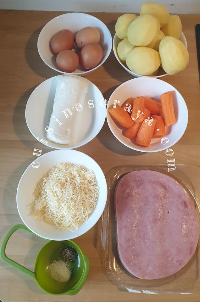 Galette aux légumes farcie à la dinde et mozzarella au four