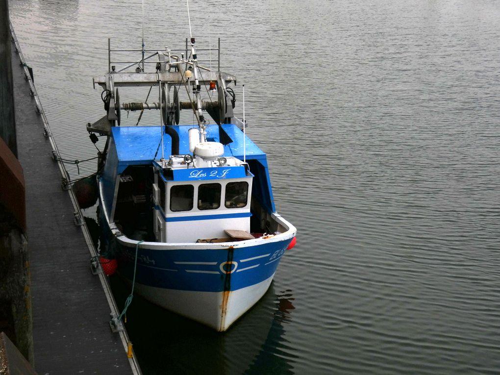 LES 2 J , BL 659484 ,  à quai dans le port de Boulogne sur Mer  les 04 et 06 juin 2019