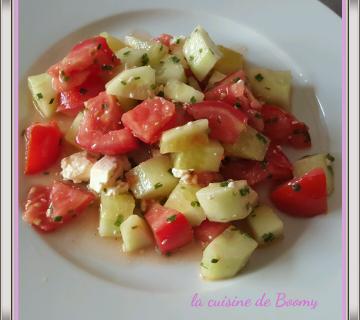 Salade de concombre à la grecque WW