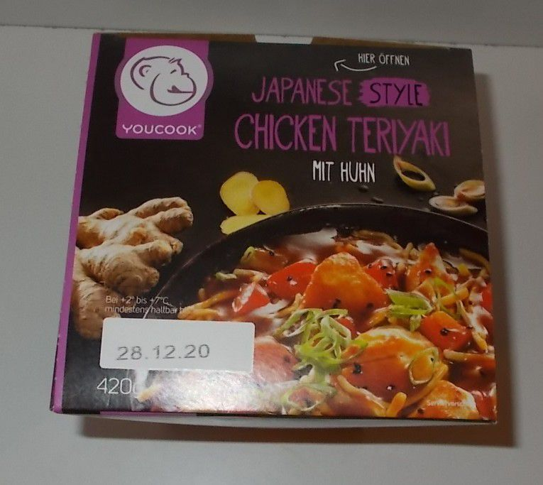 YouCook Japanese Style Chicken Teriyaki mit Huhn