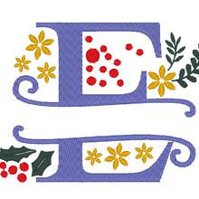 ABC d' hiver et de Noël : la lettre E
