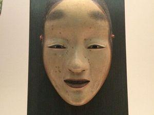 photos au musée de Tokyo et au carrefour de shibuya : Mont Fuji, Masque de Nôh, statue de Hachiko