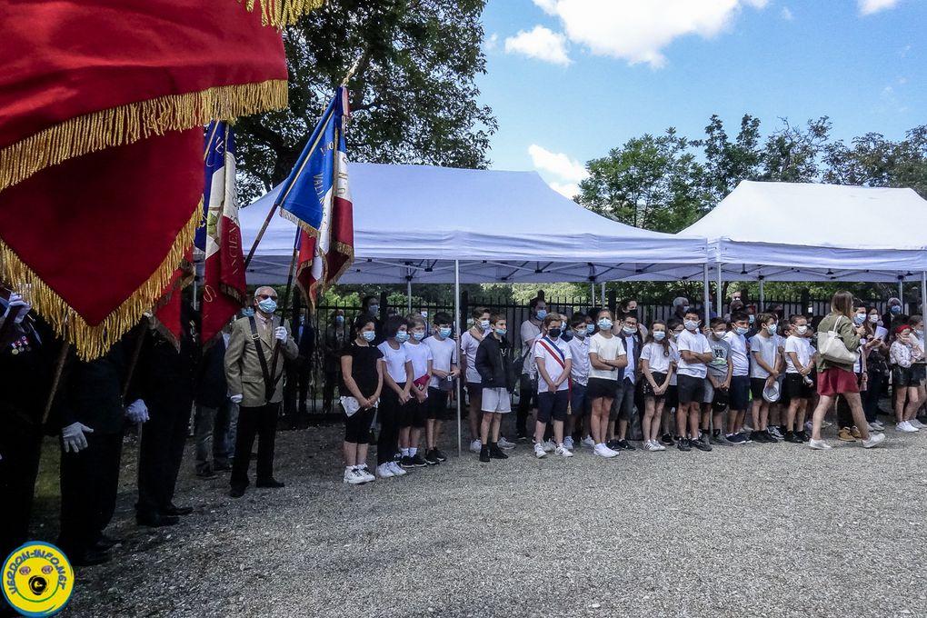 St Julien du Verdon  : Commémoration du 11 juin 1944 , vidéo 2021