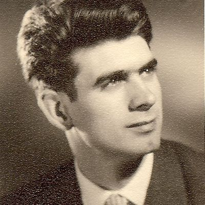 Christian Terré en Avril 1958.