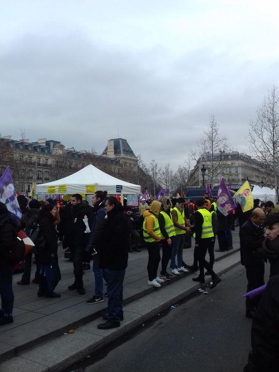 Manif 12 janvier à Paris