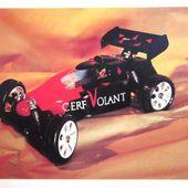 CARTE POSTALE BUGGY - CERF-VOLANT, SALON DU MODELISME 1993 - LA ROCHE SUR FORON - car-collector.net