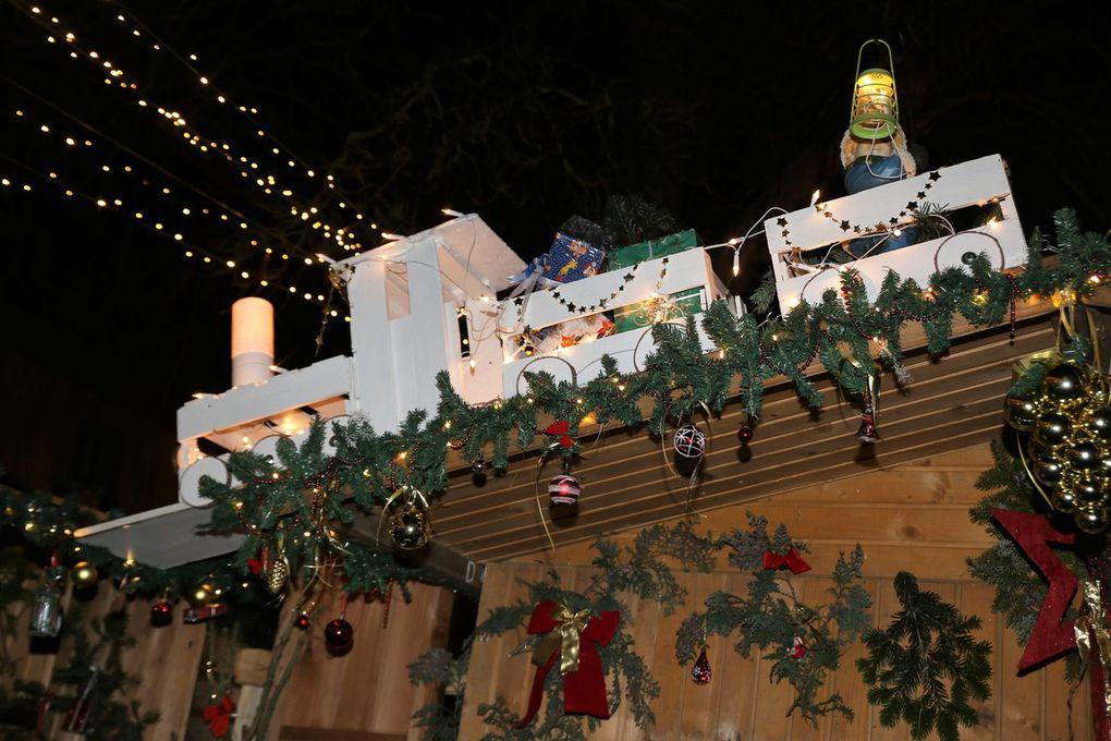 Zu verdanken ist dies vor allem der unerschöpflich scheinenden Kreativität von Irene Schwarz, wie dies dies auch der Weihnachtszug auf der Hütte der stellvertretenden VGV-Vorsitzenden zum Ausdruck bringt.
