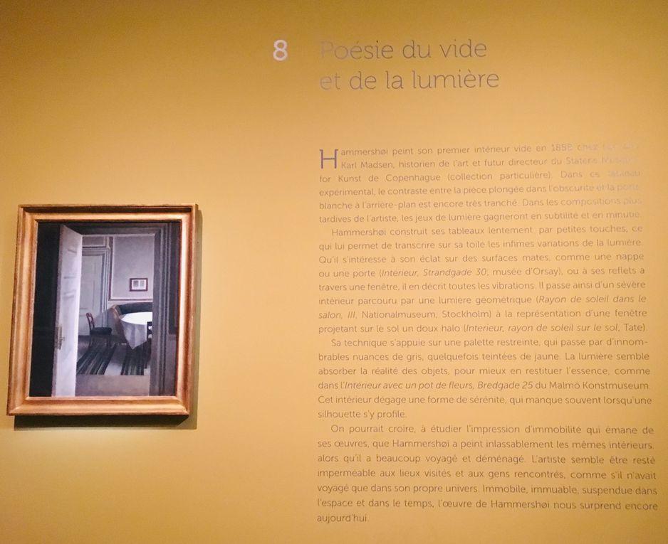Hammershoi au musée Jacquemart-André