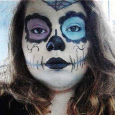 ♥ Halloween : Maquillage Sugar Skull ♥