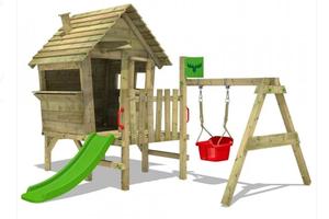 Les enfants vont jouer à l'extérieur, mais aussi a l'intérieur avec Wickey.