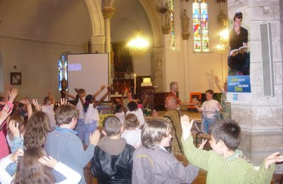 Le 5 Juin 2011 à LUNERAY : dernier GOSPEL de l'année 2010-2011 pour la fête des catéchismes