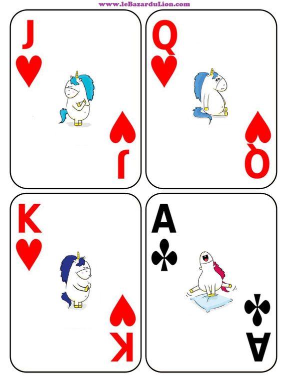 Le jeu de cartes des émotions de Gaston la Licorne (Annexe : Gaston la Licorne -mes émotions-) [Activité][Émotions][Maternelle][Élémentaire]