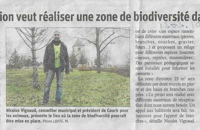 Article du journal Le Bien Public du 22/01/2021