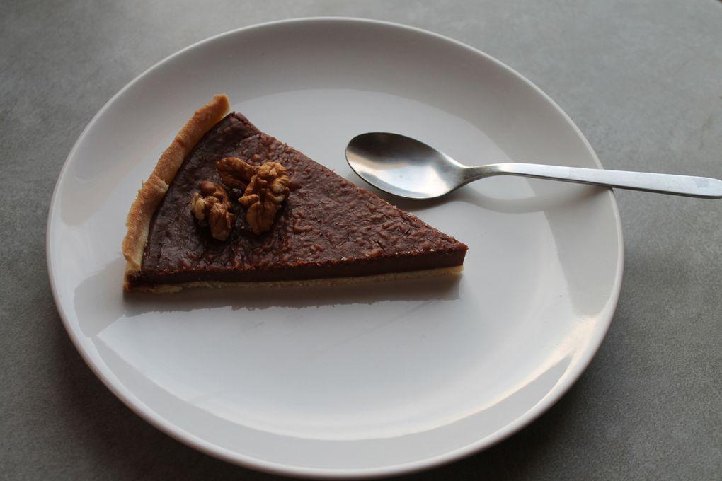 Ma tarte chocolat