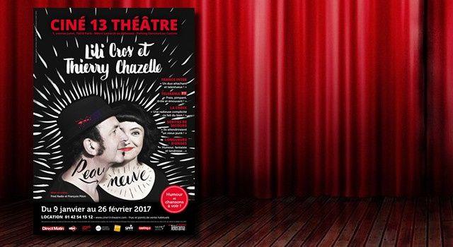 'Peau Neuve', par Lili Cros & Thierry Chazelle