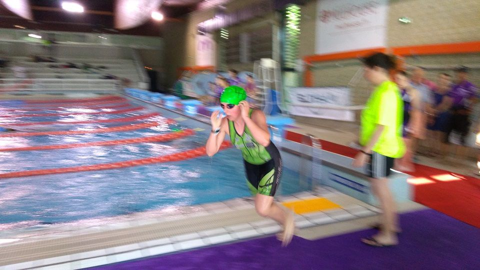 Aquathlon de Mulhouse 2018