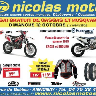 Essais gratuits chez Nicolas Moto