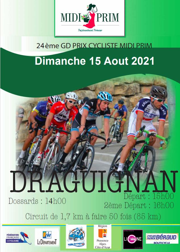 Dimanche, Prix Midi Prim à Draguignan