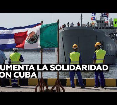 Cuba remercie la Bolivie et le Mexique d'avoir envoyé de la nourriture et des fournitures médicales pour faire face à la crise