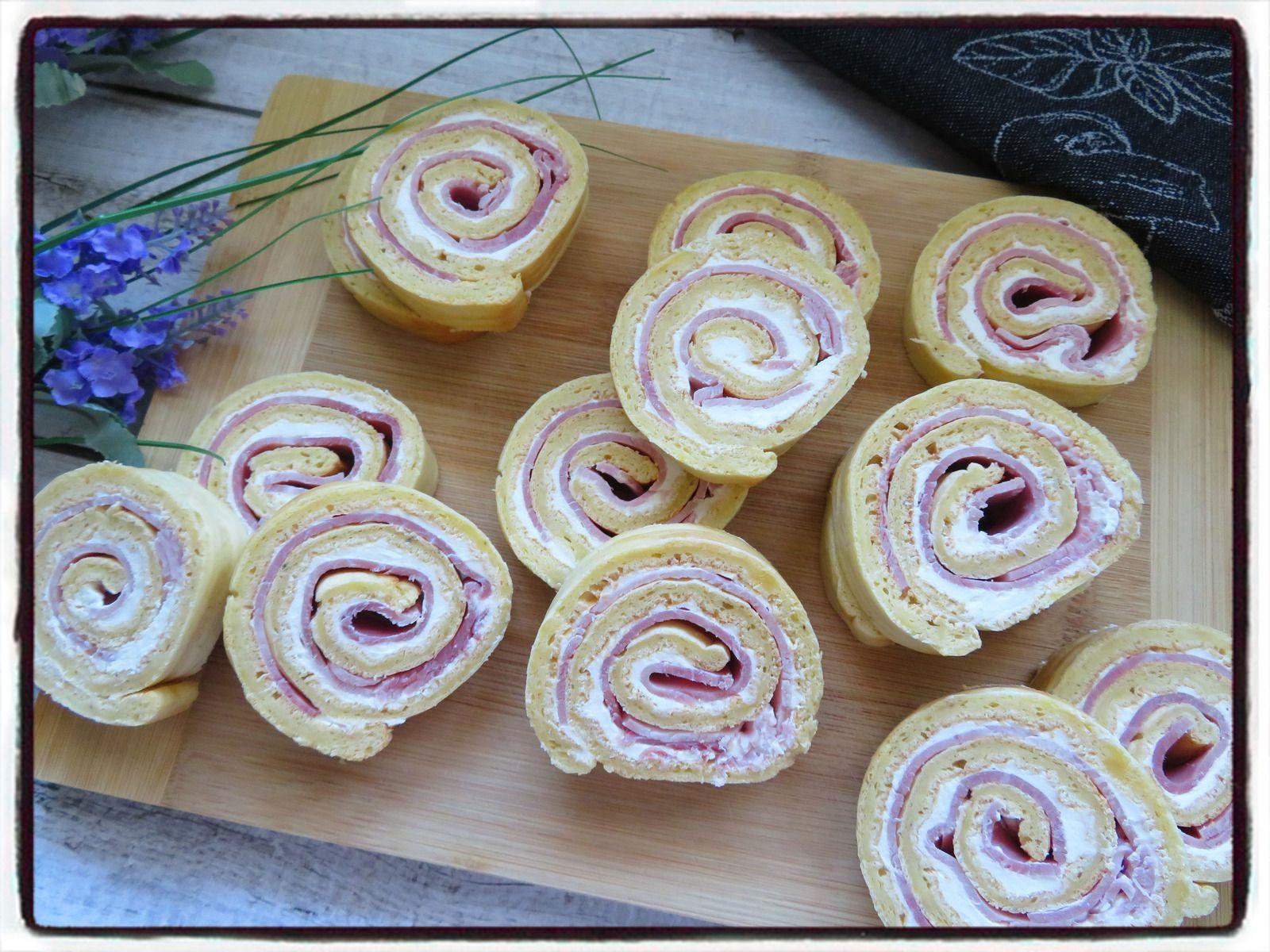 gâteau roulé jambon saint môret