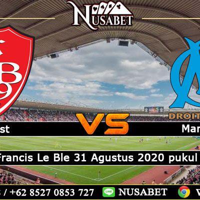 Prediksi Brest Vs Olympique Marseille 31 Agustus 2020