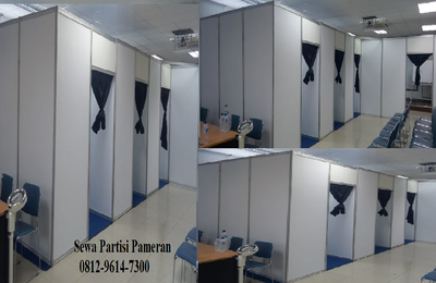 Sewa Panel R8, Partisi R 8, Sewa Fitting Room