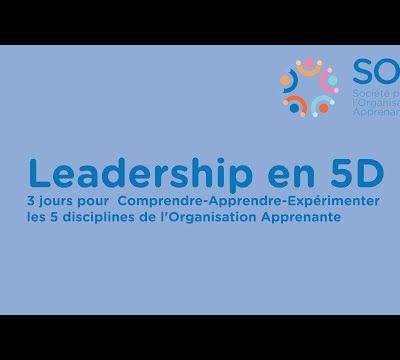 Cultiver l'apprenance avec le leadership en 5D