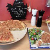 Quiche gratinée : Courgette, Oignon, Tomate et Fêta - Chez Mamigoz