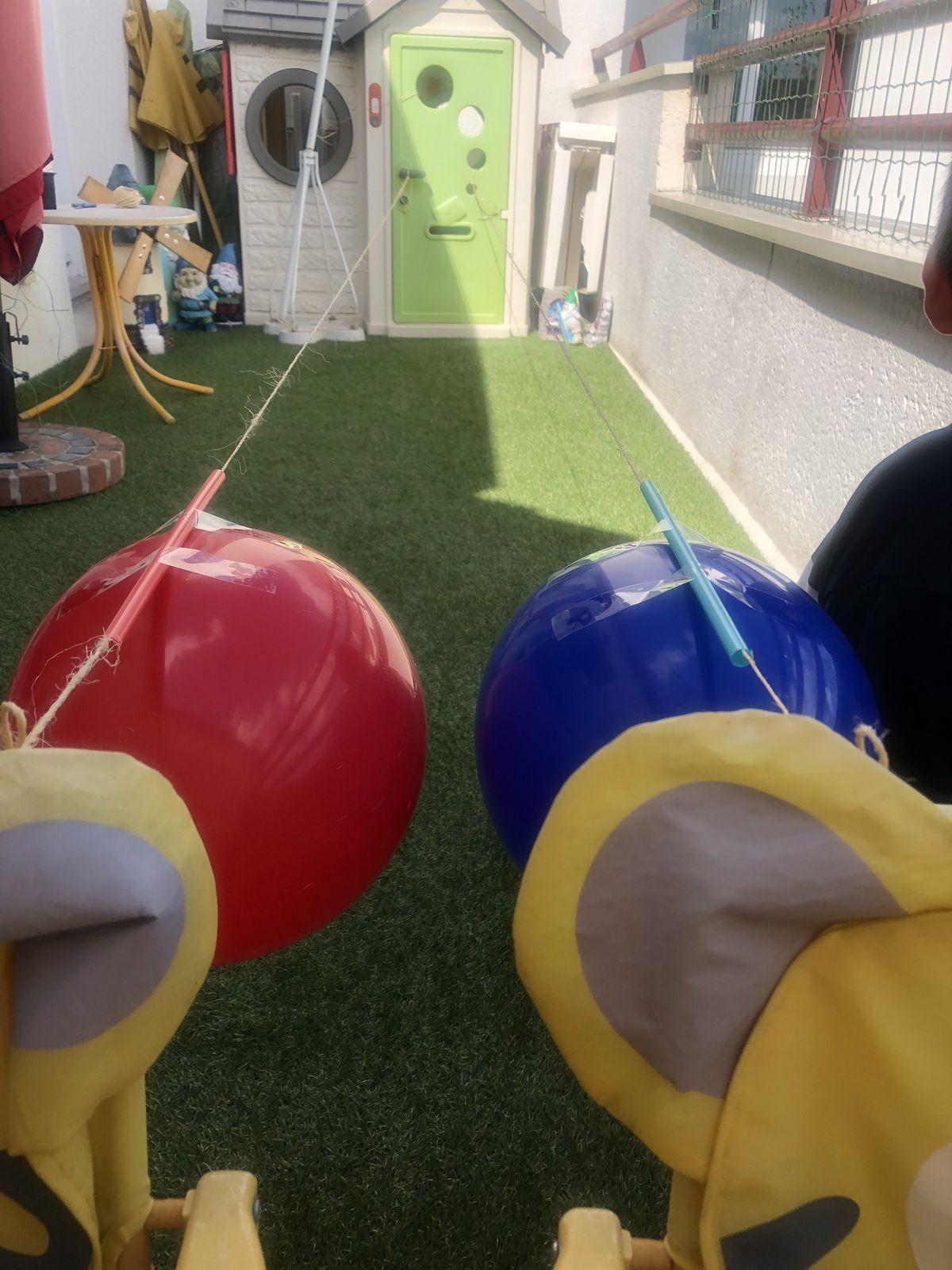 Course de ballons