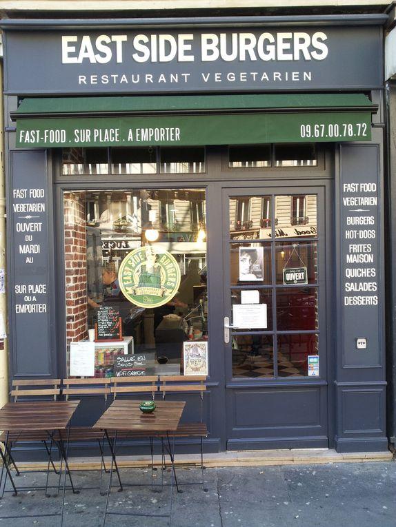 Restaurant Végétarien style New yorkais. Paris
