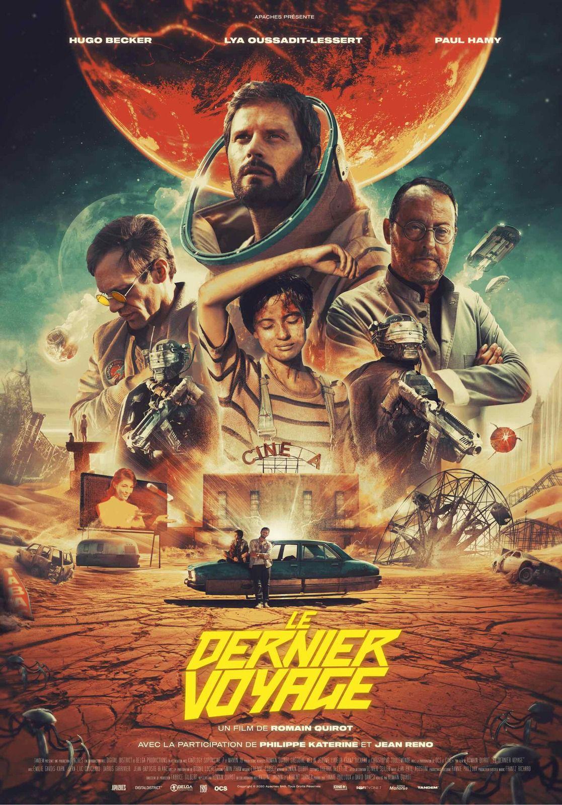 Le dernier voyage (BANDE-ANNONCE + 1 EXTRAIT DE 4MN) avec Hugo Becker, Lya Oussadit-Lessert, Paul Hamy - Le 19 mai 2021 au cinéma