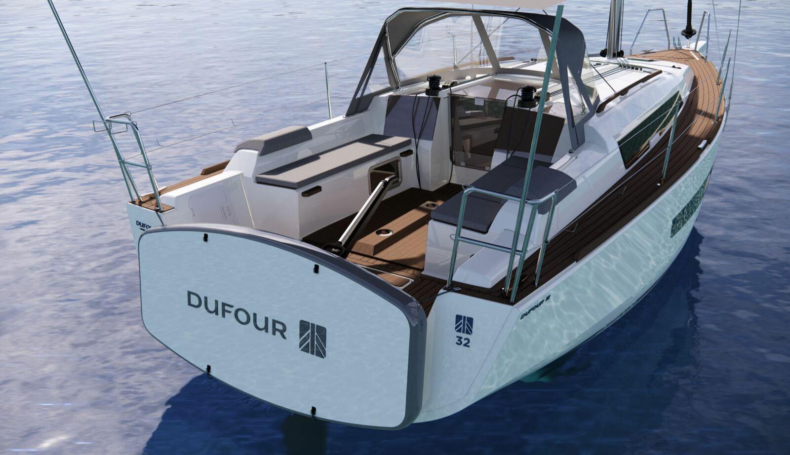 Le nouveau Dufour 32 s'inscrit pleinement dans la lignée des Dufour actuels