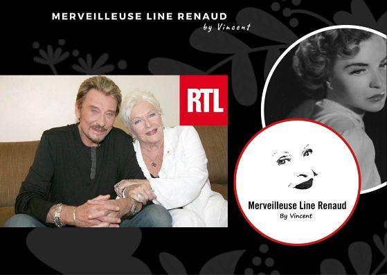 RADIO: «Johnny Hallyday, c'était comme un fils», confie Line Renaud sur RTL