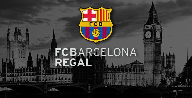 Road to London: FC Barcelona Regal