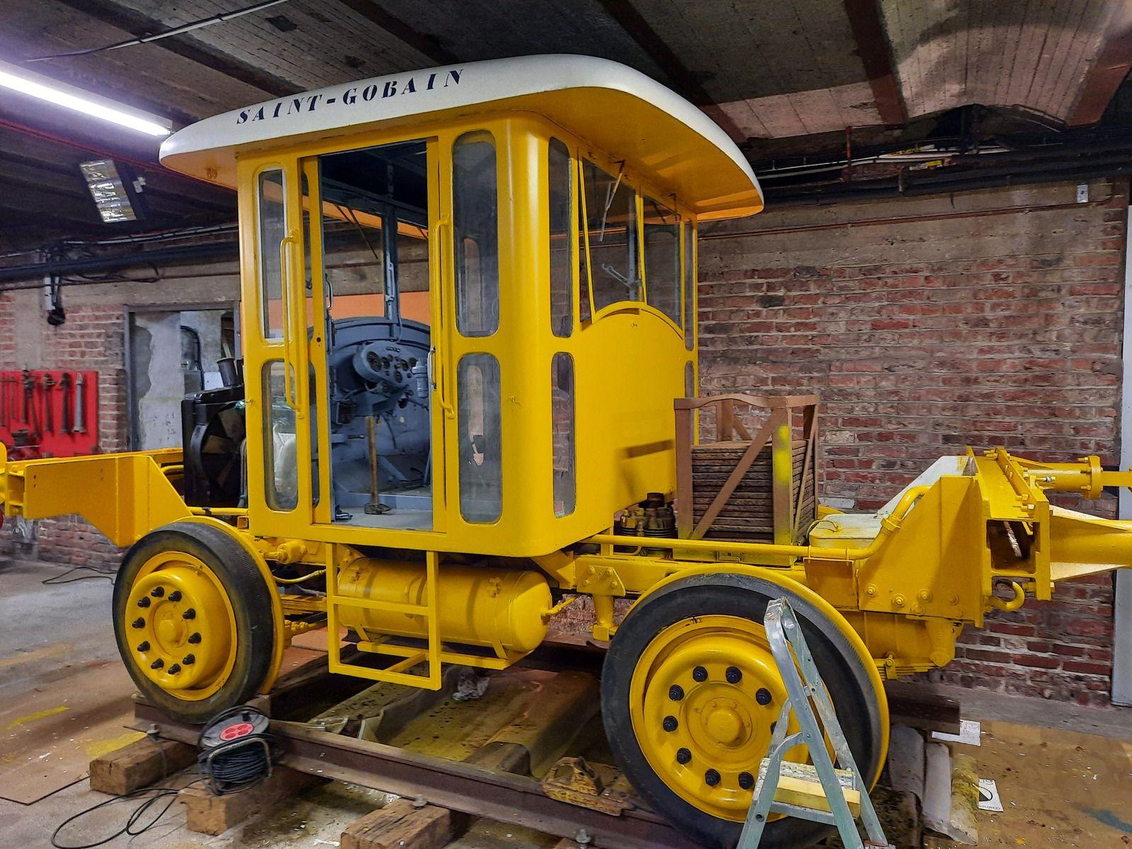 Rénovation locotracteur Saviem (Latil) suite article du 20 Février 2021