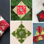 Quick Fabric Ornaments for Gifts and Your Tree - Page 3 of 3 - Quilting Digest