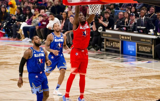 Pascal Siakam réussit ses débuts au All-Star Game : 15 points et 6 rebonds en 18 minutes