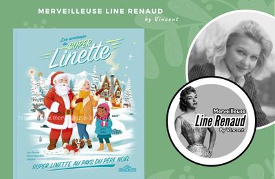NEWS : Visuel du prochain livre « Les Aventures de Super Linette – Super Linette au pays du Père Noël »