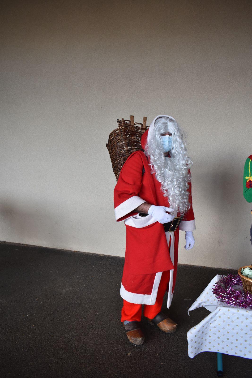 Noël à Clovis Noir