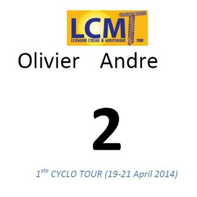 1 semaine avant le Luxembourg Cycling Tour (LCMT)