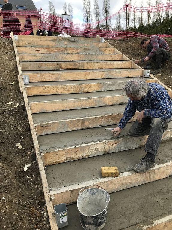 De nouveaux escaliers