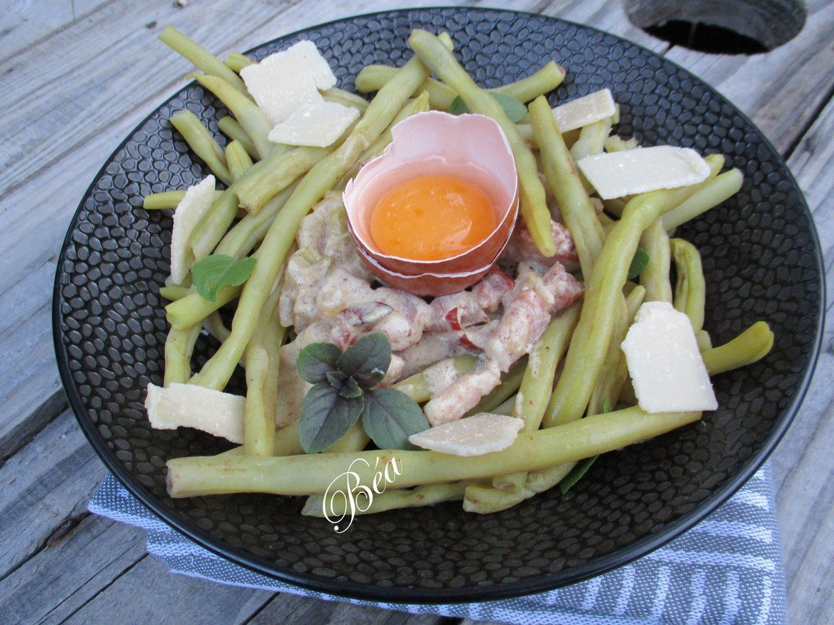 Haricots beurre à la méditerannéenne