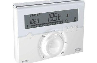 Reglage thermostat chauffage delta dore