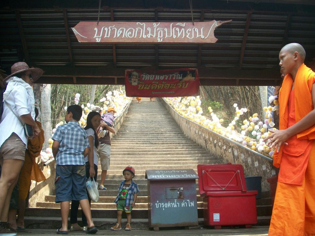 Thaïlande : Visite à Erawan caves....