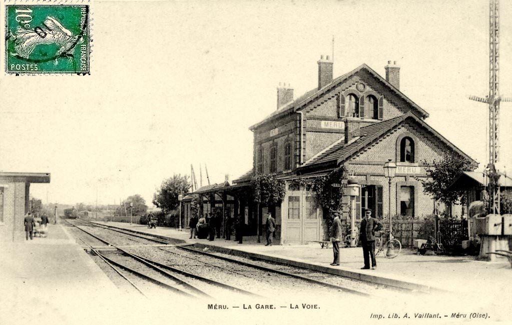 Gare de Méru (60) -1