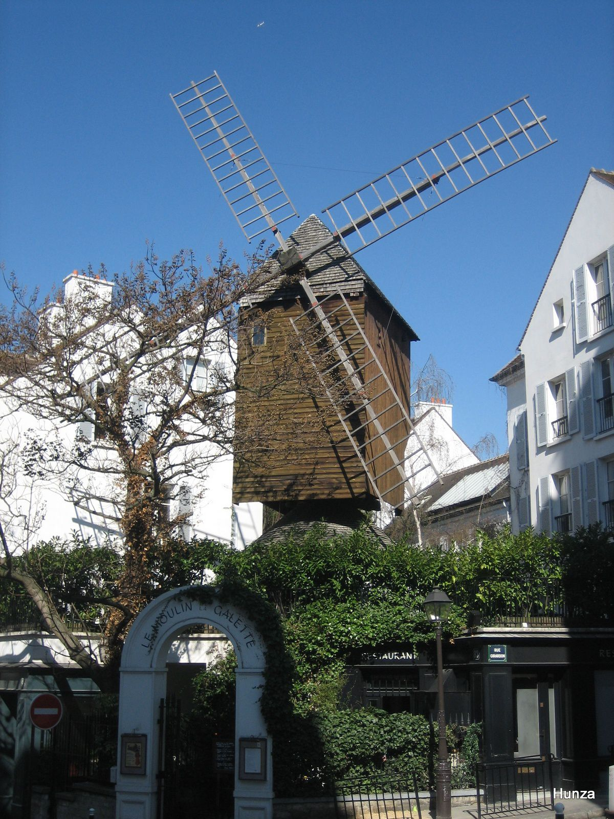 Paris, le moulin de la Galette