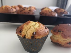 Petits et grands muffins