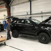 Du Ford Everest au VT4 (véhicule léger tactique polyvalent non protégé)