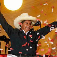 Pedro Castillo revendique la victoire à l'élection présidentielle péruvienne